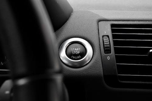 Free stock photo of auto, button, car