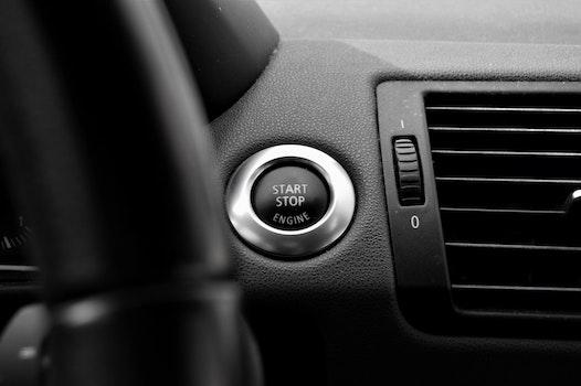 Free stock photo of car, vehicle, interior, start