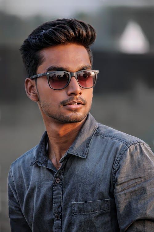 Photo Of Man Wearing Black Shades