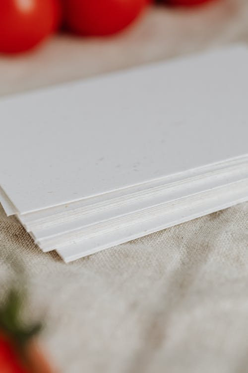 Photo Of Stacked Clear Papers