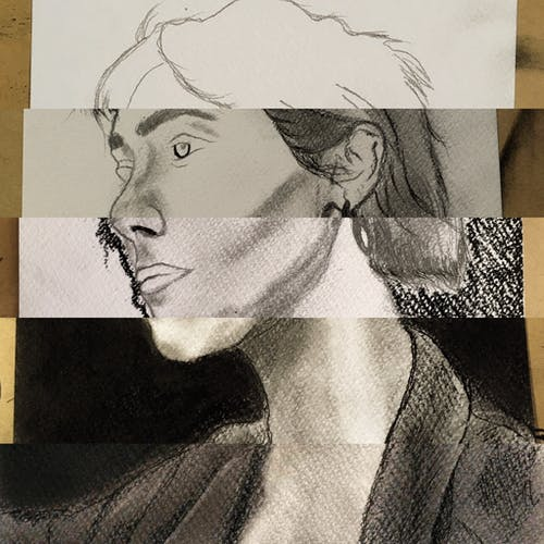 Free stock photo of art, draw, drawing, girl