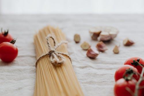 Photo Of Pasta Beside Tomatoes