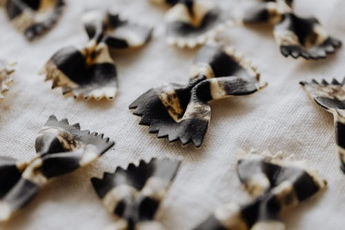 Close-Up Photo Of Farfalle Pasta