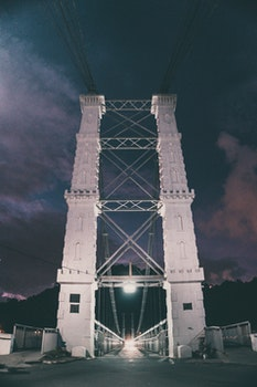 Free stock photo of landscape, landmark, lights, bridge