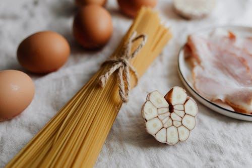 Photo Of Pasta Beside Egg