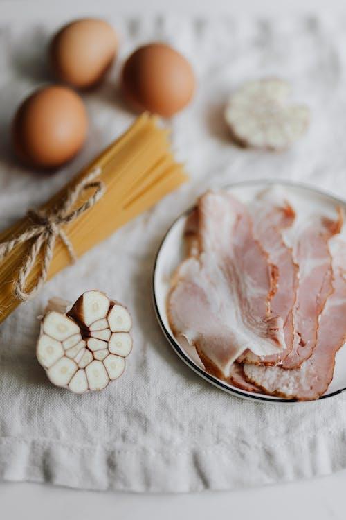 Gratis arkivbilde med bacon, delikat, egg, friskhet