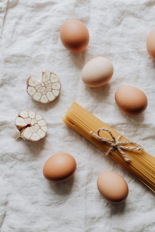 Photo Of Egg Beside Pasta