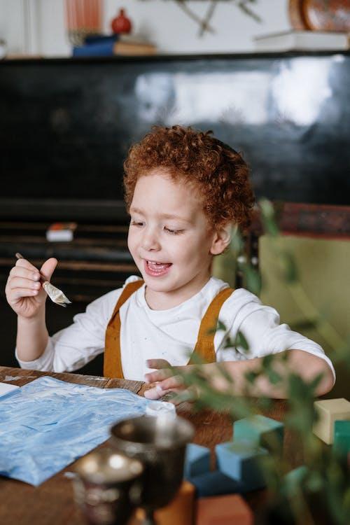 Kleine Jongen Schilderij
