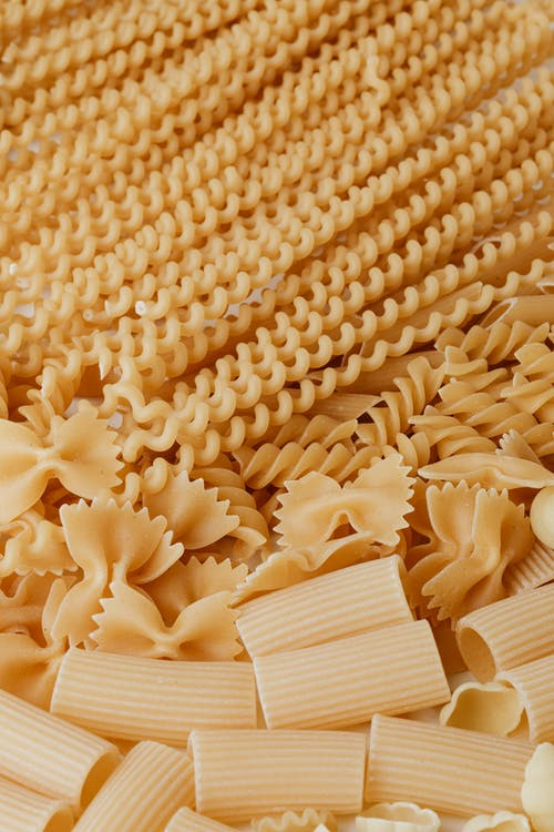 Close-Up Photo Of Uncooked Pasta