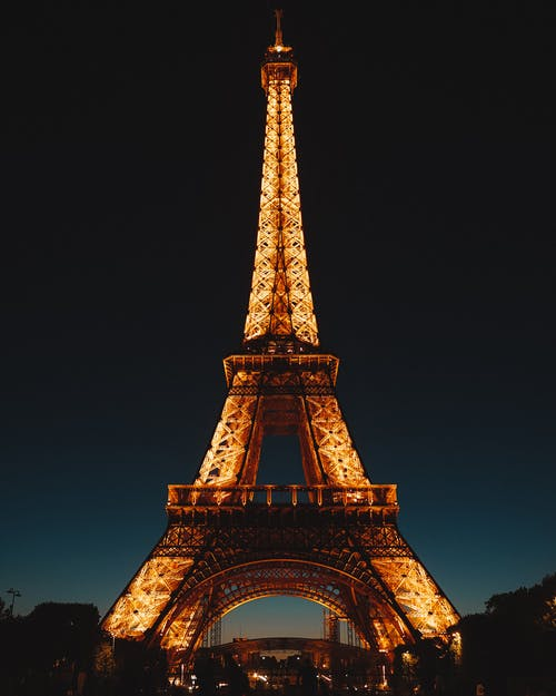 Photo Of Eiffel Tower During Night