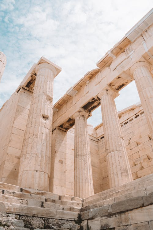 Photo Of Ancient Columns During Daytime