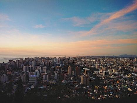 Free stock photo of city, sky, clouds, skyline
