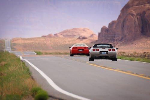 Darmowe zdjęcie z galerii z arizona, chevrolet, corvette, dolina pomników