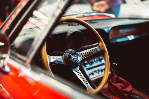 Wooden Car Steering Wheel
