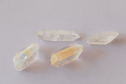 Close-Up Photo Of Crystal Quartz