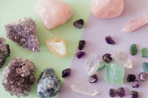Close-Up Photo Of Assorted Crystals