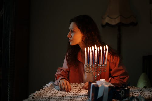Woman in Candlelight