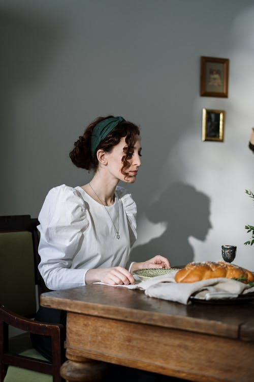 challah的, hanukkiah, 以色列食品, 传统美食 的 免费素材照片
