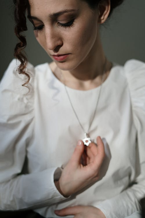 Woman With Star of David