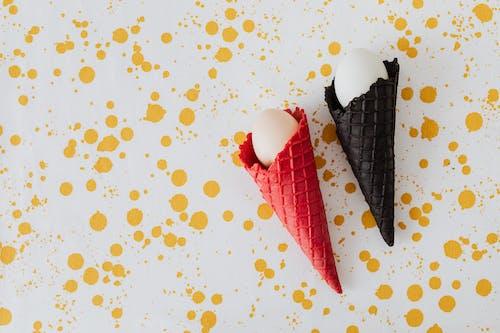 COPYSPACE, 冰淇淋甜筒, 圓錐體 的 免費圖庫相片