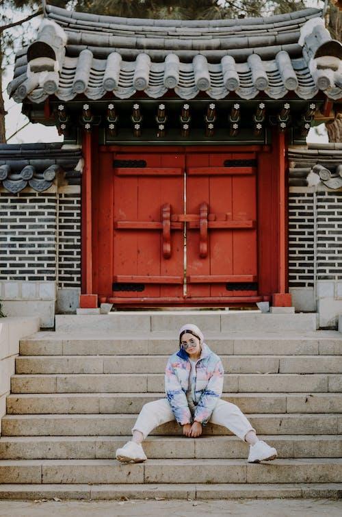 アジア建築, エントランス, カルチャー, スタイルの無料の写真素材