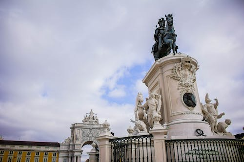 Free stock photo of monument, portugal, square