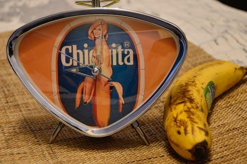 Free stock photo of banana, chiquita, fruit