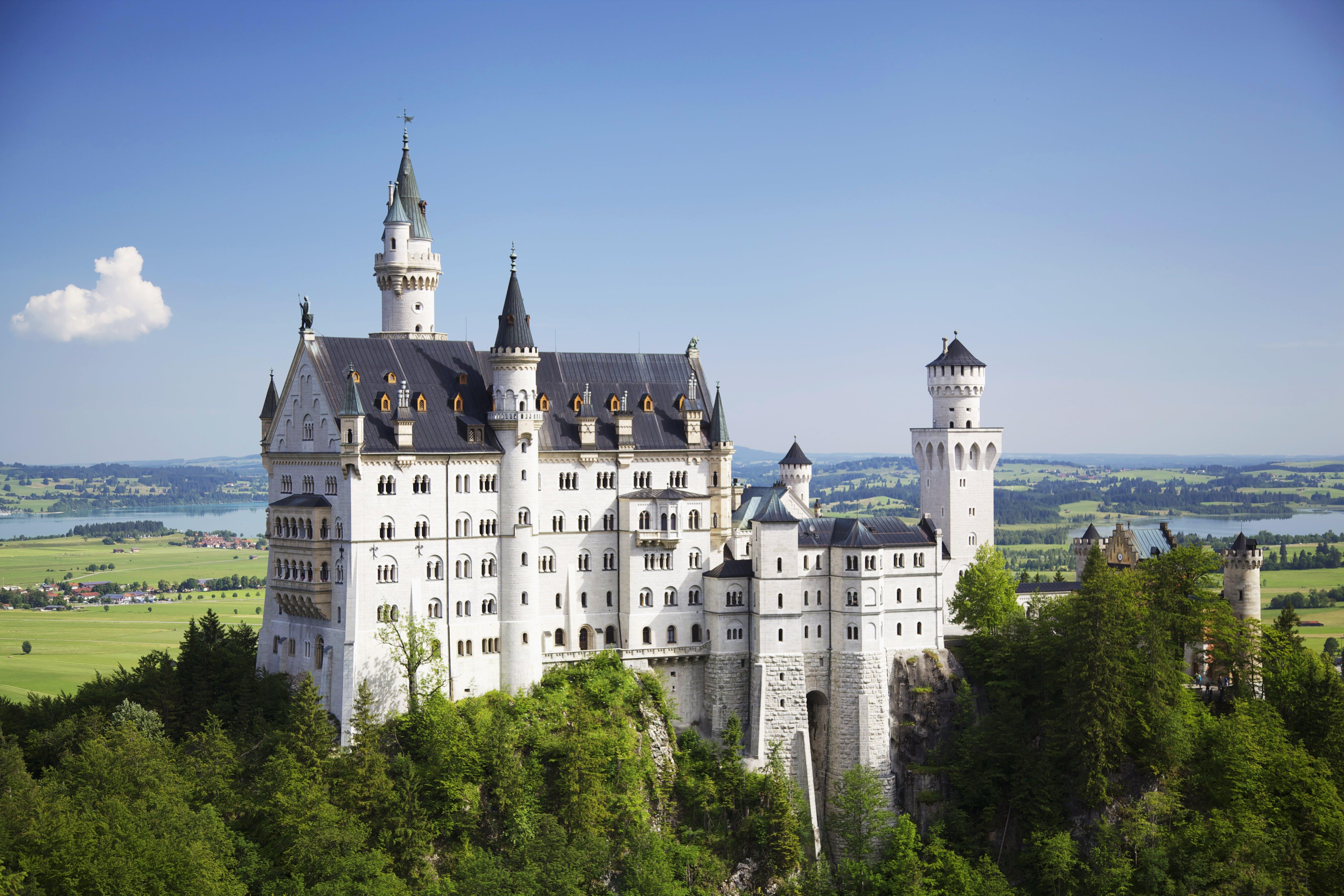 Foto stok gratis air, Arsitektur, Kastil, langit