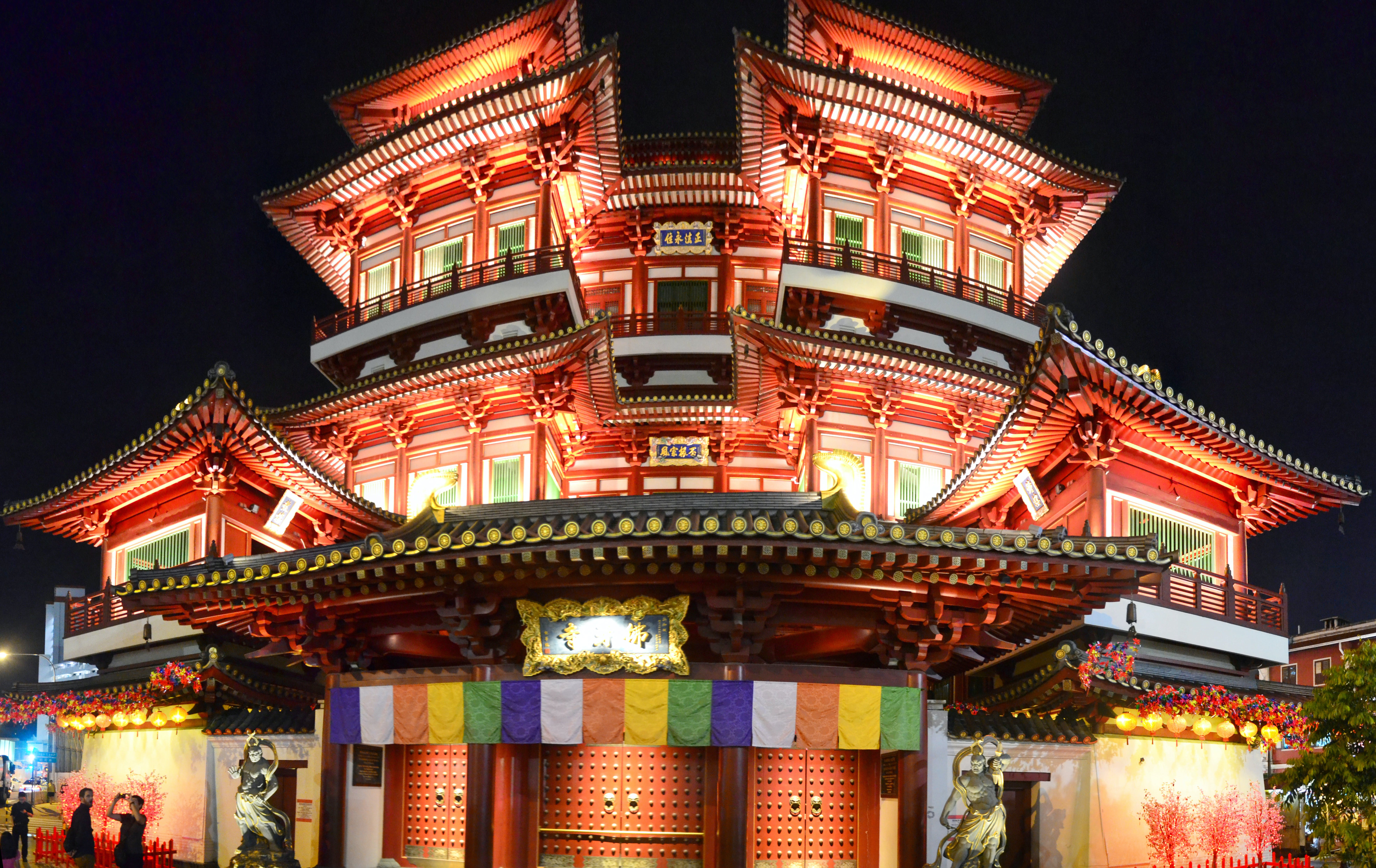 Free stock photo of Buddha Tooth Relic Temple, singapore, temple