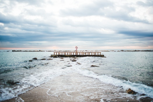 Free stock photo of sea, landscape, sunset, beach