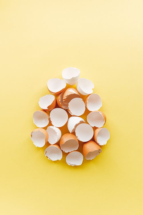 Foto profissional grátis de alimento, cascas de ovo, com defeito, conceitual