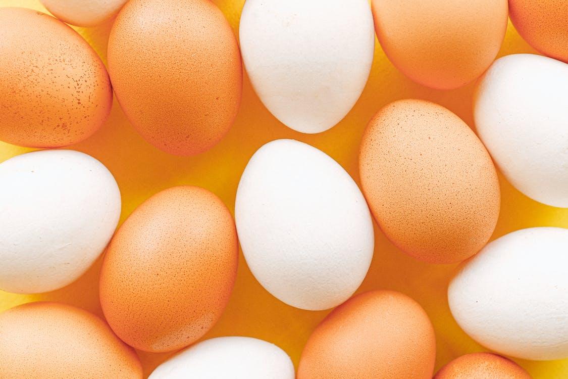 Eggs Close Up