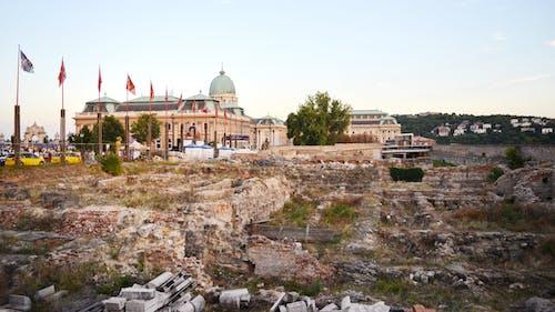 Ruins at Buda Castle