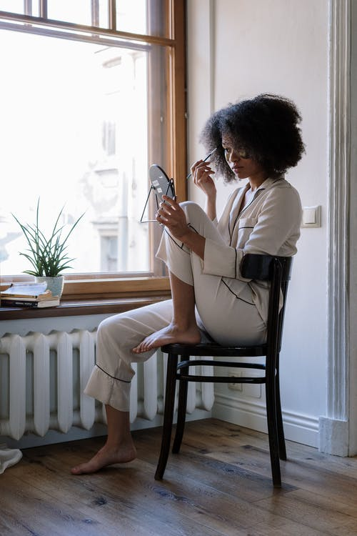 Free stock photo of afro, afro hair, appartment, at home