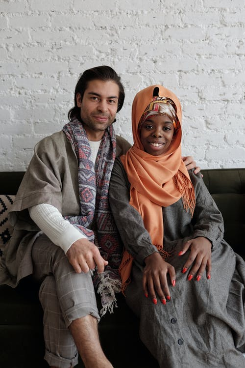 Portrait of Muslim Couple
