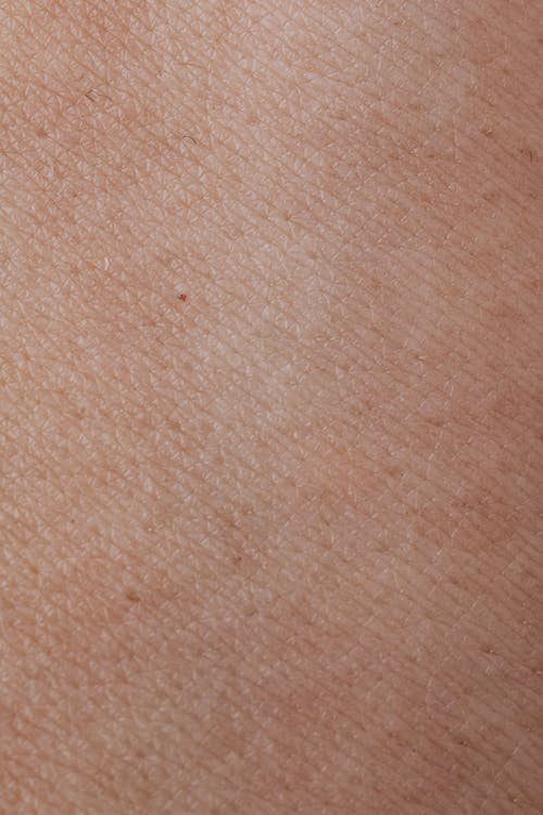 Close-up View Of Human Skin