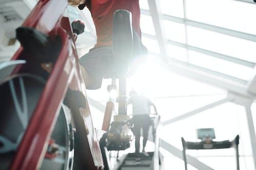 คลังภาพถ่ายฟรี ของ การฝึก, การอบรม, การออกกำลังกาย, การใช้ถีบ