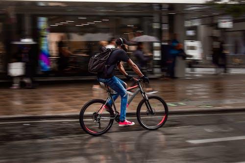 交通系統, 匆忙, 單車騎士 的 免費圖庫相片