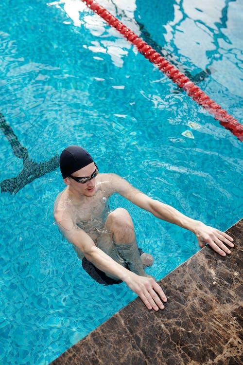 Photo Of Man On Poolside