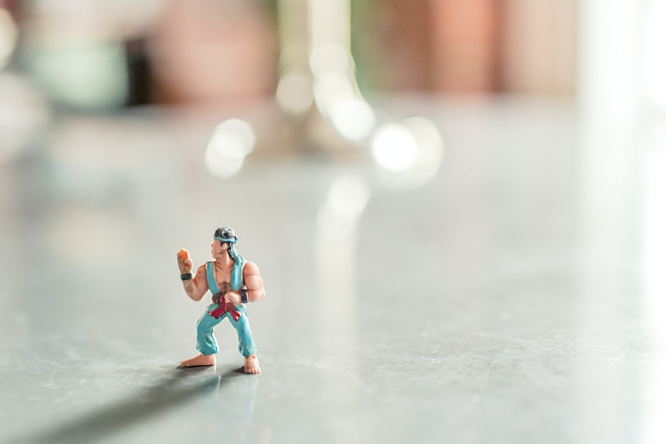 action figure, hero, muscles