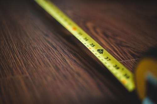 Close-Up Photo Of Measuring Tape