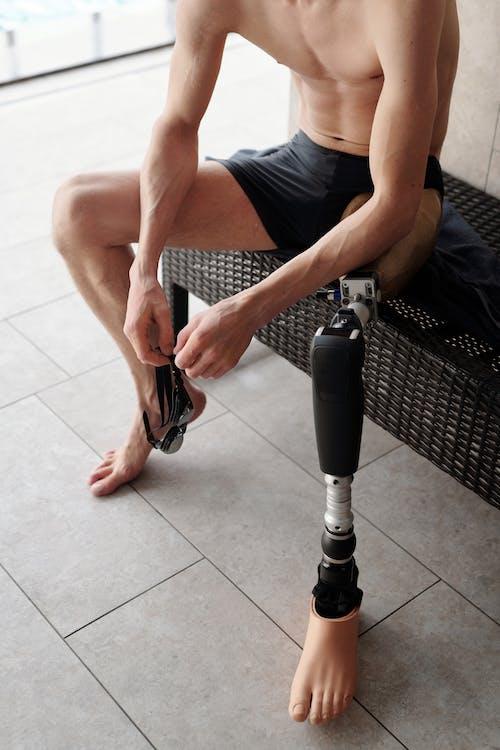 Foto profissional grátis de adulto, amputado, atleta, desativado