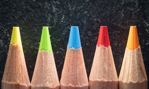 Free stock photo of art, art and craft, color pencils, coloured pencils