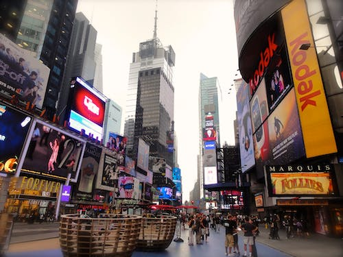 Free stock photo of city, city-challenge, commercials, times square