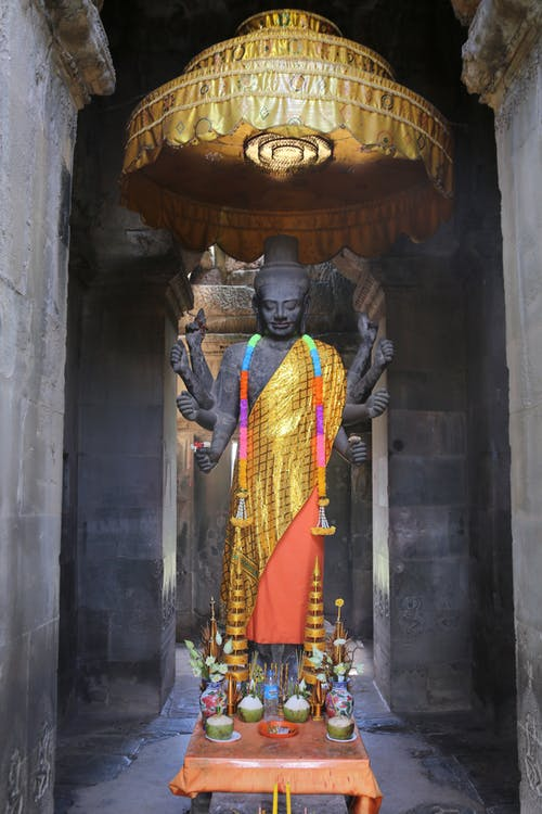 Photo Of Sacred Statue