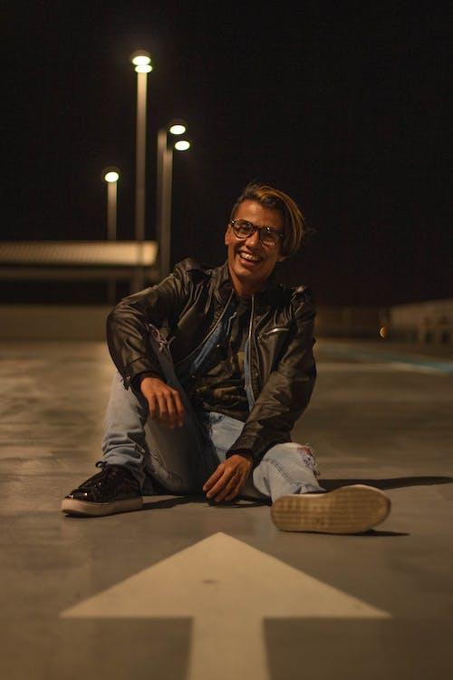 Photo Of Man Sitting On Floor