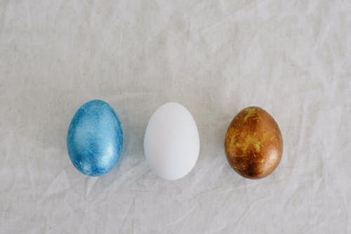 Eggs in Different Colors