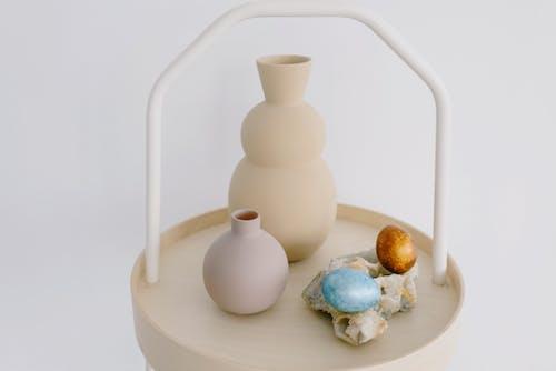 Immagine gratuita di arredamento, decorazioni pasquali, design minimale, interior design