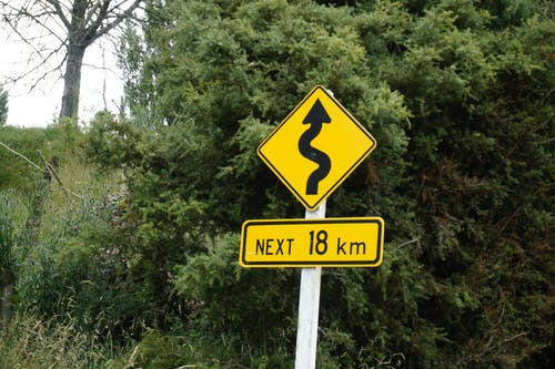 Free stock photo of direction, driving, road, roadsign