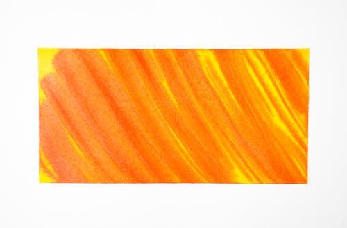 Orange and White Striped Background